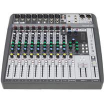 Mesa de Som Soundcraft Analógica Signature 12 MTK - 12 Canais Gravação Independente -