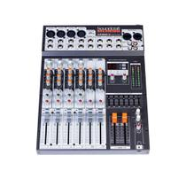 Mesa De Som Soundcraft Selenium SX802FX USB Com 8 Canais Balanceados -