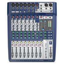 Mesa De Som Soundcraft Signature 10 Canais -