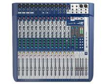 Mesa De Som Soundcraft Signature 16 USB 16 Canais -