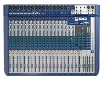 Mesa De Som Soundcraft Signature 22 USB 22 Canais -