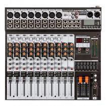 Mesa de Som Soundcraft SX 1202 FX USB 12 Canais -