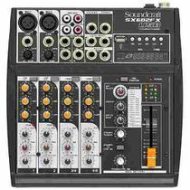 Mesa de Som Soundcraft Sx602fx 6 Canais USB -