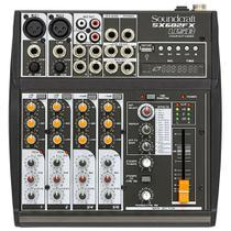Mesa de Som Soundcraft SX602FX USB - 6 Canais -