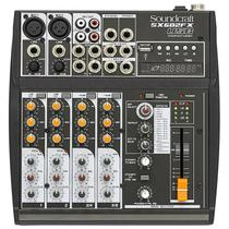 Mesa de Som SoundCraft SX602FX USB -