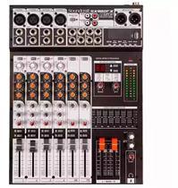 Mesa de Som Soundcraft SX802FX USB 8 Canais SX 802 FX - Jbl