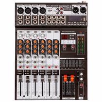 Mesa de Som Soundcraft SX802FX USB - 8 Canais -