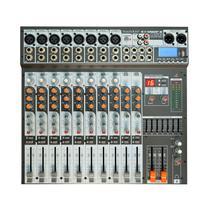 Mesa de som soundcraft usb sx-1202 fx usb 12 canais -