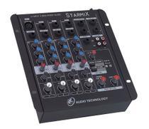 Mesa de som Starmix s402r com 4 canais, Bivolt - Ll Áudio/ Nca