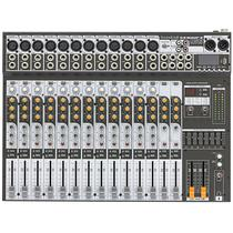 Mesa de Som Sx 1602 Fx Soundcraft 16 Canais Usb -