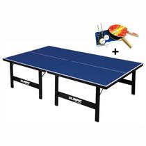 Mesa de Tênis de Mesa Ping Pong Olimpic 1005 MDP 15mm com Kit Completo -