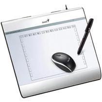 Mesa Digitalizadora I608X Com Mouse e Caneta MousePen USB Genius -