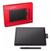Mesa Digitalizadora One by Wacom Pequena 2048 Pontos de Pressão 2540 ipi 21x14,6 cm - CTL-472L -