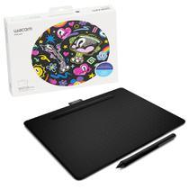 Mesa Digitalizadora Wacom CTL-6100WL 4096 Pontos de Pressão Bluetooth Preta - CTL-6100WLK0 -