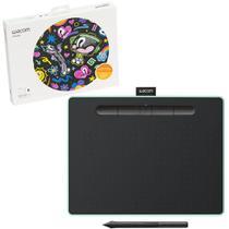Mesa Digitalizadora Wacom CTL-6100WL 4096 Pontos de Pressão Bluetooth Verde Pistache - CTL-6100WLE0 -