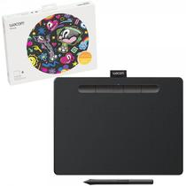 Mesa Digitalizadora Wacom Intuos Creative Pen Tablet Bluetooth Media Black Ctl6100wlk0 - CTL6100WLK0