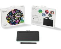 Mesa Digitalizadora Wacom Intuos Creative Pen Tablet Bluetooth SMALL Green (CTL4100WLE0) -