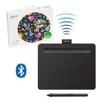 Mesa Digitalizadora Wacom Intuos CTL4100WLK0 Criativa com Bluetooth Pequena -