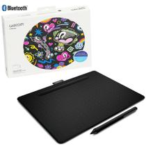 Mesa Digitalizadora Wacom Intuos CTL6100WLK0 Bluetooth Preta -
