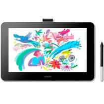 Mesa Digitalizadora Wacom One Creative Pen - Display Interativo Full HD 13.3  2540 LPI - DTC133W0A1 -