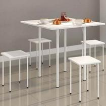 Mesa Dobravel com 4 banquetas - Ws