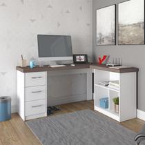 Mesa Escrivaninha Artany Mali Home Office 3 Gavetas -