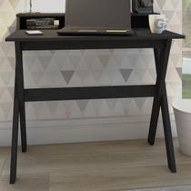Mesa Escrivaninha Itália 3 Nichos Preto - Artany - Artany Móveis