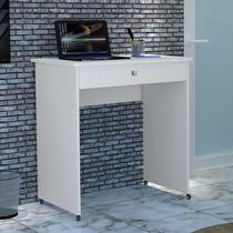 Mesa Escrivaninha Para Notebook e Computador Compact - Branco - Ofertamo
