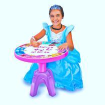 Mesa Infantil Centro de Atividades Disney Princesas 2426 Lider -