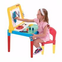 Mesa Infantil Pequeno Artista Bell Toy Com Lousa -