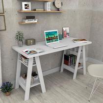 Mesa Mesinha Escrivaninha Cavalete Home Office Branco - Appunto