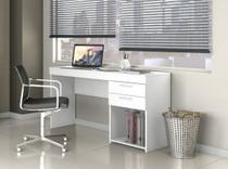 Mesa Office 02 Gavetas Notável Branco - Notavel