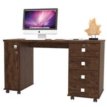 Mesa p/ notebook office smart noce - Lukaliam