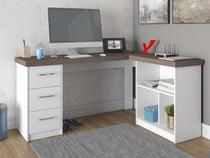 Mesa para Computador 3 Gavetas Artany Home Office - Mali