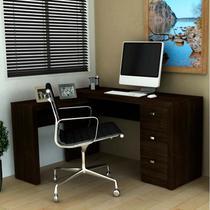 Mesa para Computador com 3 Gavetas ME4101 - Tecno Mobili -