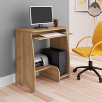 Mesa para Computador com 3 Prateleiras Pixel Artely Pinho -
