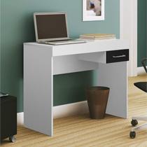 Mesa para Computador com Gaveta Cooler Artely Branco -
