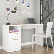 Mesa Para Computador E Notebook Com 01 Porta E 01 Gaveta Office BC64 - Brv