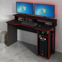Mesa para Computador Gamer 1,36m ME4153 Tecno Móbili -