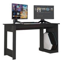 Mesa para Computador Gamer Legend Preto - PR Móveis -