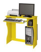 Mesa para Computador Lívia Amarelo - Edn Móveis -