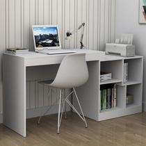 Mesa Para Computador Moove 2 Prateleiras Branco - Appunto -