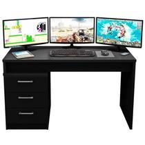 Mesa para Computador Notebook Desk Game DRX 5000 Preto - Móveis Leão -