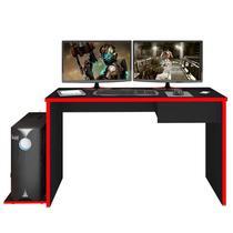 Mesa para Computador Notebook Desk Game DRX 8000 Preto/Vermelho - Mpozenato - Mpozenato - ml