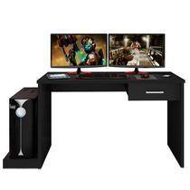 Mesa para Computador Notebook Desk Game DRX 9000 Preto - Móveis Leão -