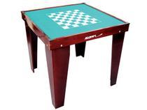 Mesa para Dominó Xadrez Damas Klopf - 31078 com Jogo de Dominó