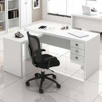 Mesa para Escritório 3 Gavetas ME4106 - Tecno Mobili -