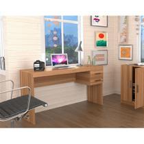 Mesa para Escritório com 2 Gavetas Office Plus Appunto - Castanho -
