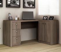 Mesa para Home Office com Gavetas e 02 Portas ME4100 - Tecno Mobili -
