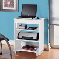 Mesa para Notebook com Tampo Portatil Artely Branco -